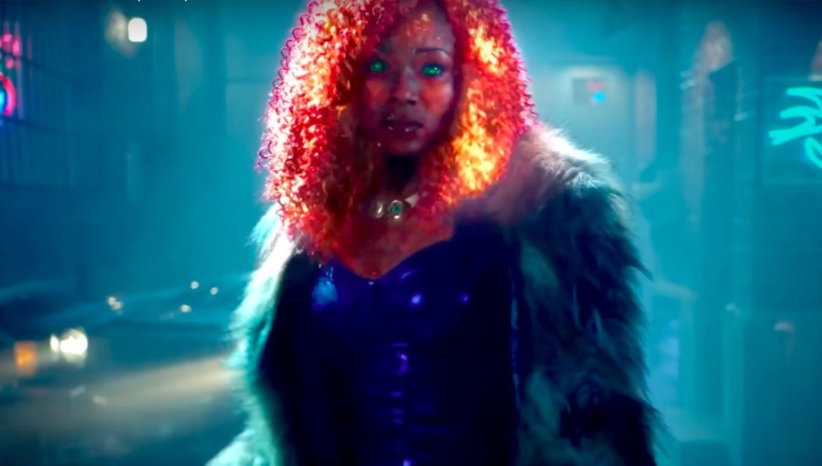 Anna Diop as Starfire in the Titans TV show