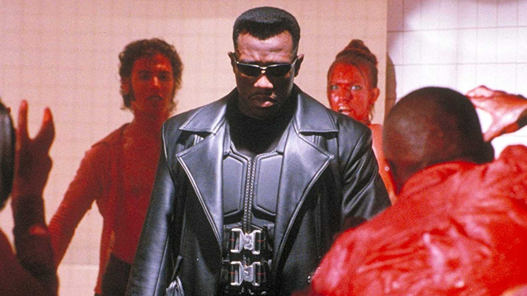 Wesley Snipes as Blade Marvel