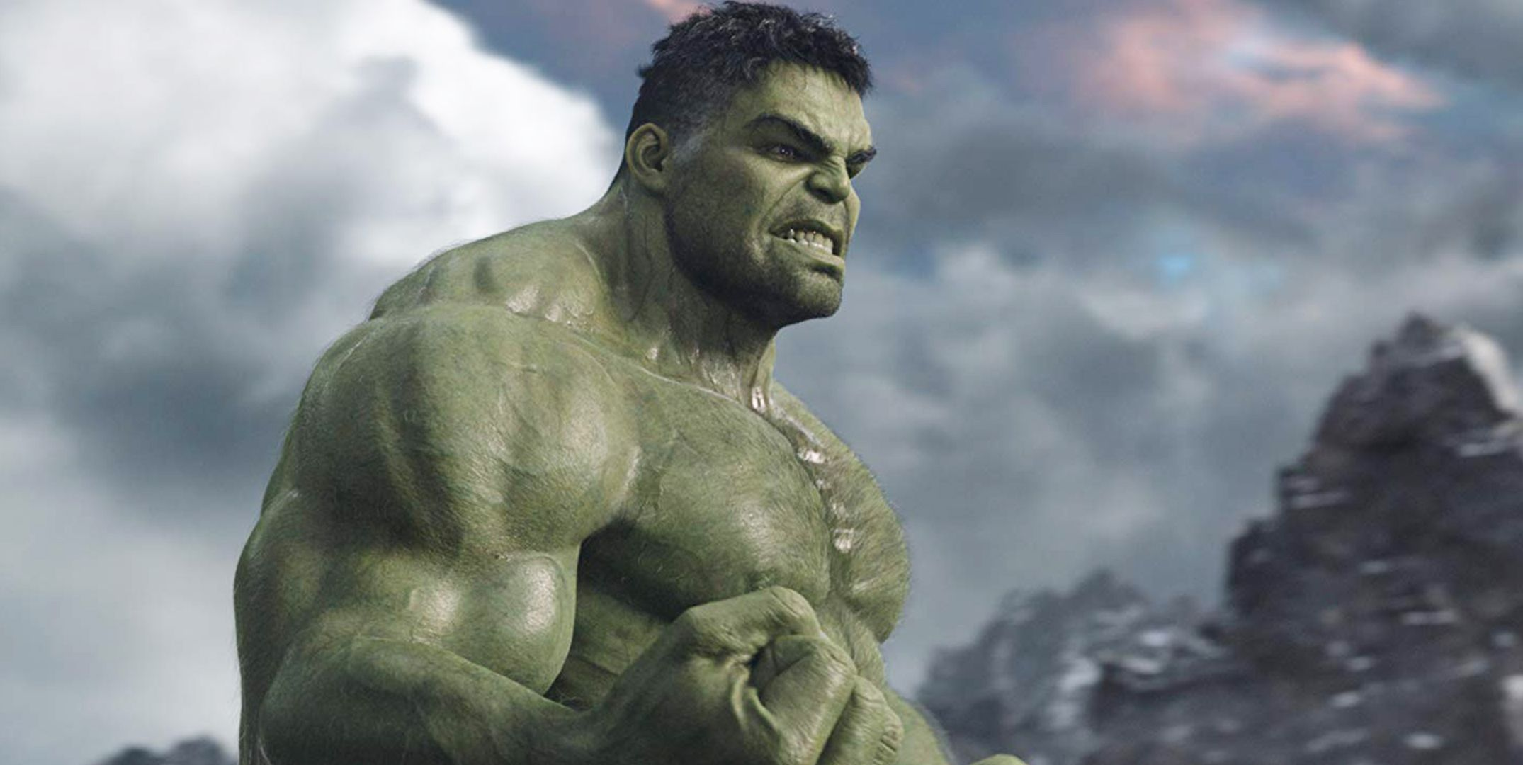 The Hulk in the Marvel movie, Thor: Ragnarok