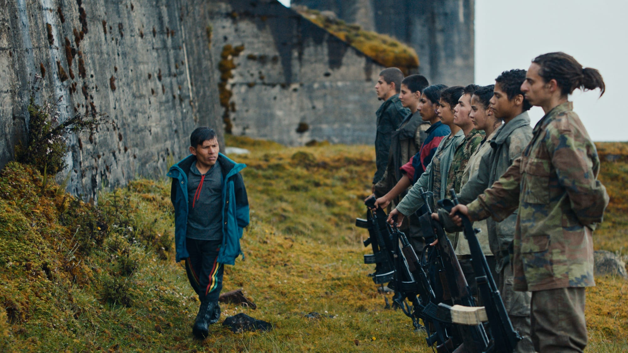 The Monos in rank on the mountaintop in Colombia best films 2019