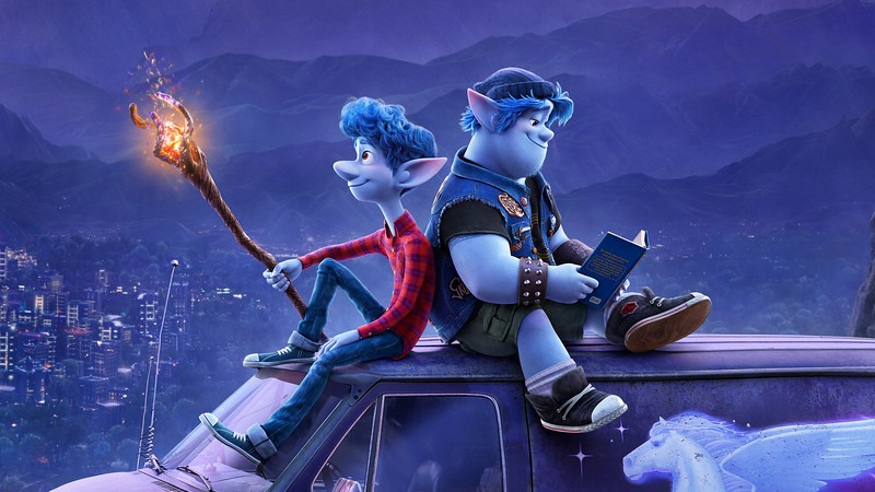 New Poster for Disney Pixar's Onward Has Two and a Half Heroes