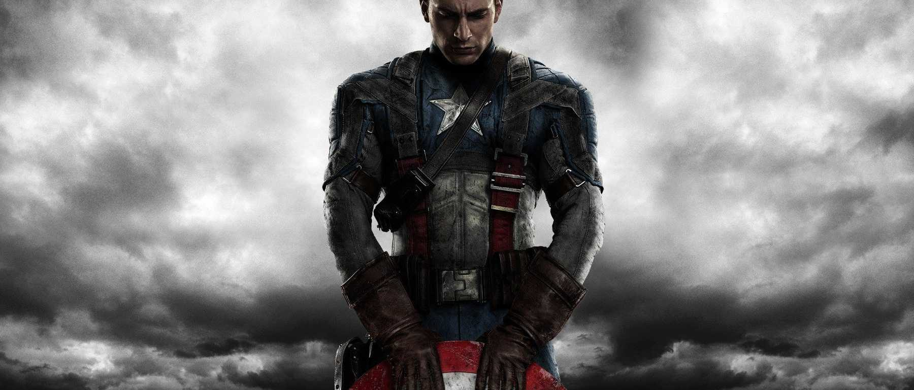 Chris Evans as Captain America in the MCU
