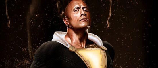First Look At Dwayne 'The Rock' Johnson As Black Adam