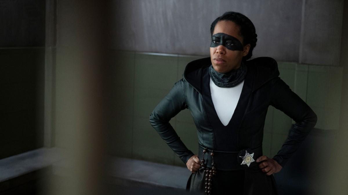 Regina King as Sister Knight in Watchmen Episode 6