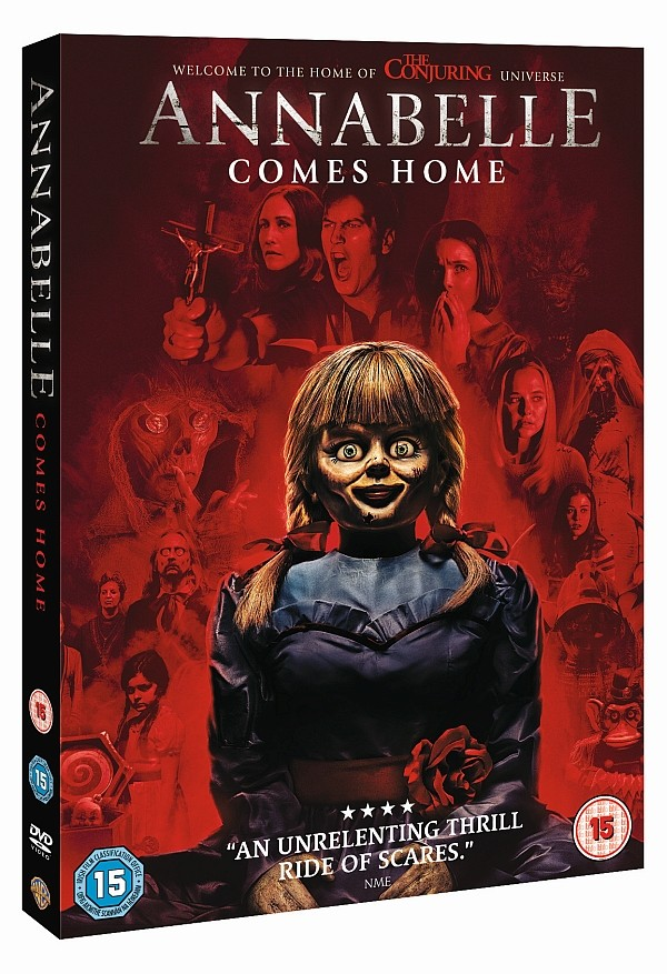 Own Annabelle Comes Home on DVD