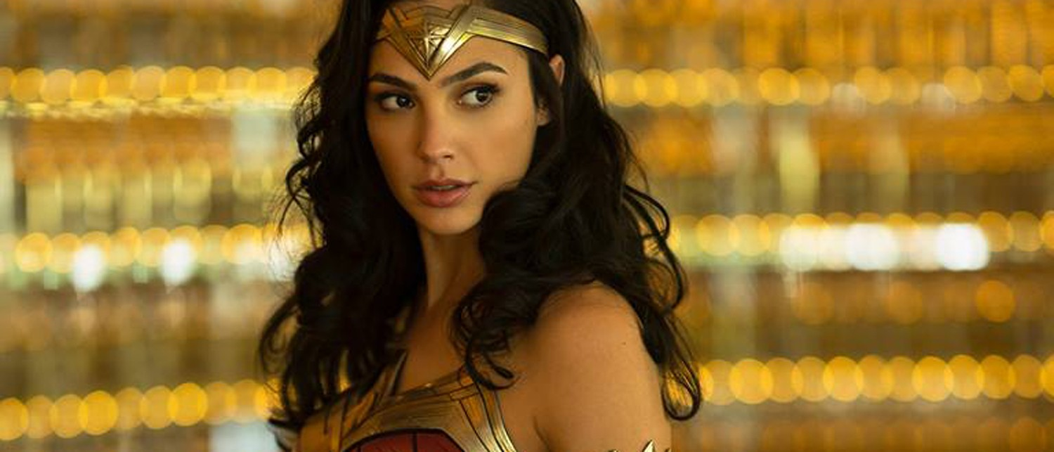 Gal Gadot as Wonder Woman in Wonder Woman 1984