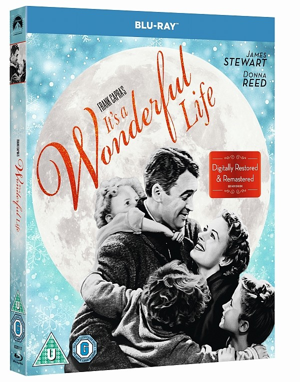 Win your very own Blu-ray or Ultra 4K copy of It's a Wonderful Life