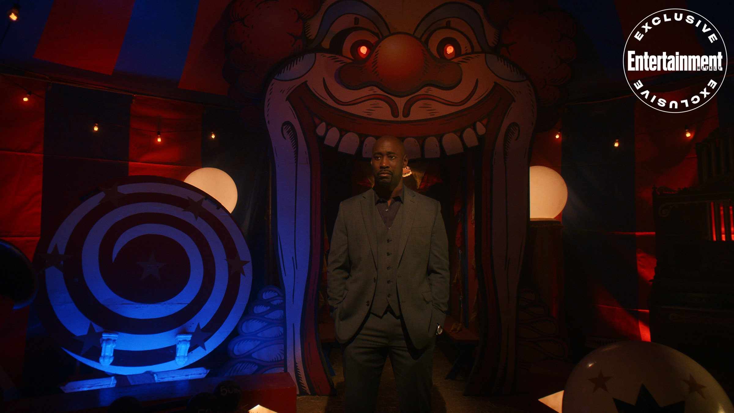 Amenadiel does not seem that comfortable in Hell in Lucifer Season 5