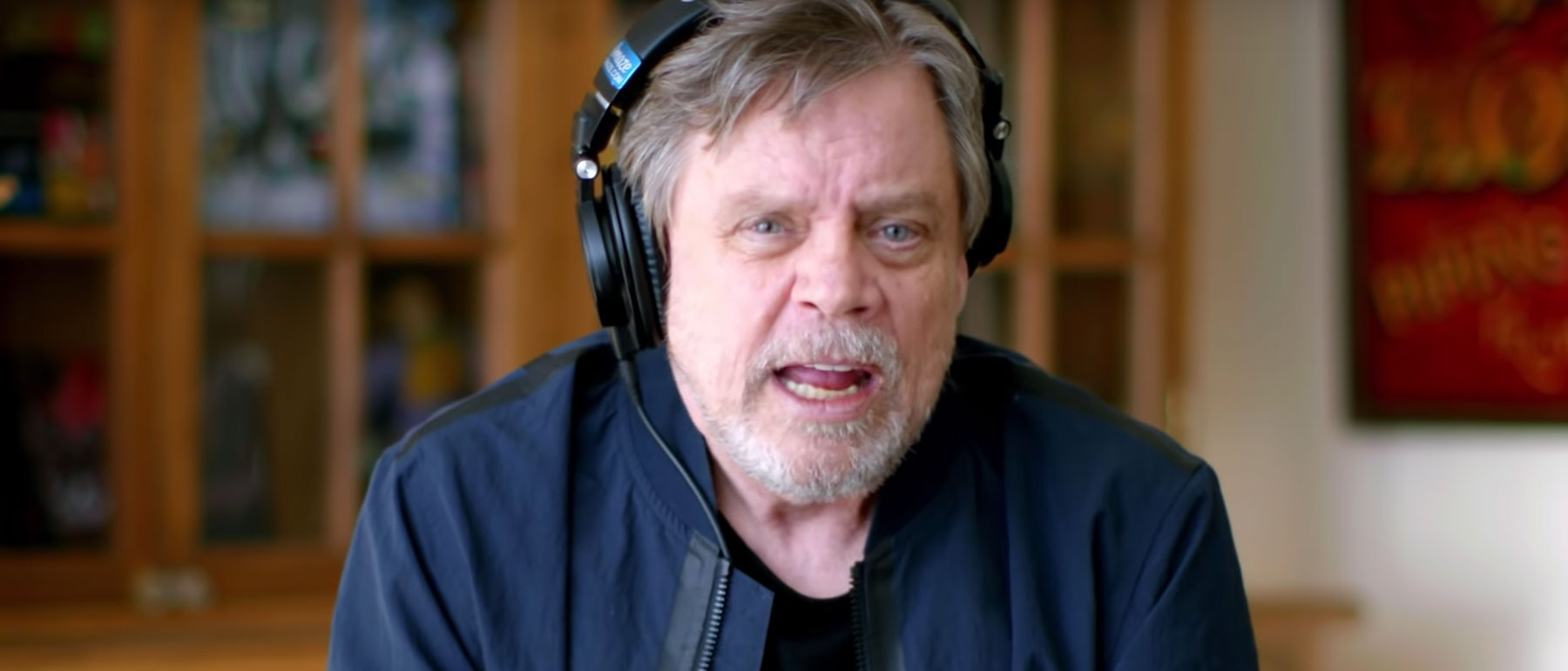 Mark Hamill reacts to his Star Wars audition in Omaze video