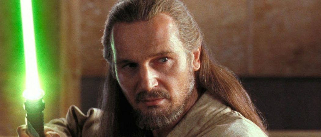 Star Wars Liam Neeson Qui-Gon Jinn The Phantom Menace