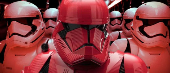 Star Wars: The Rise Of Skywalker's New Images Show Off The Awesome-Looking Sith Troopers