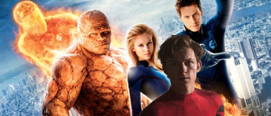 Spider-Man And Fantastic Four Team Up Movie In The Works