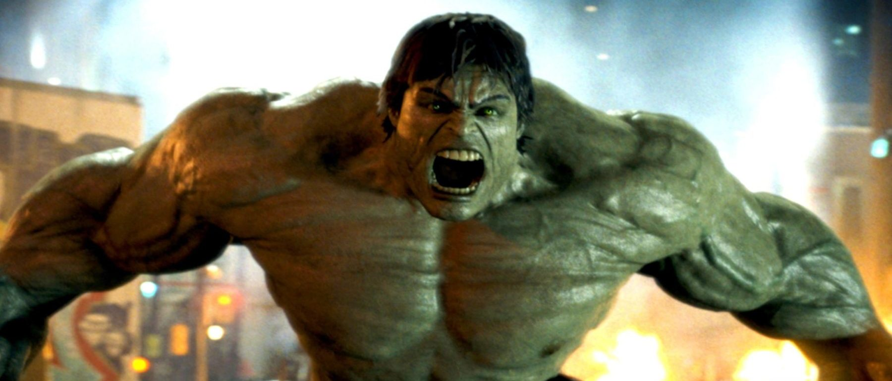Edward Norton as Hulk in The Incredible Hulk