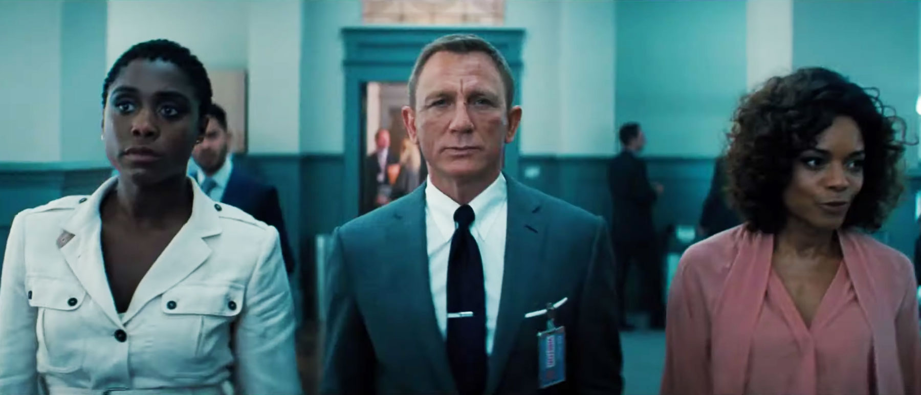 Daniel Craig is back a James Bond in No Time To Die