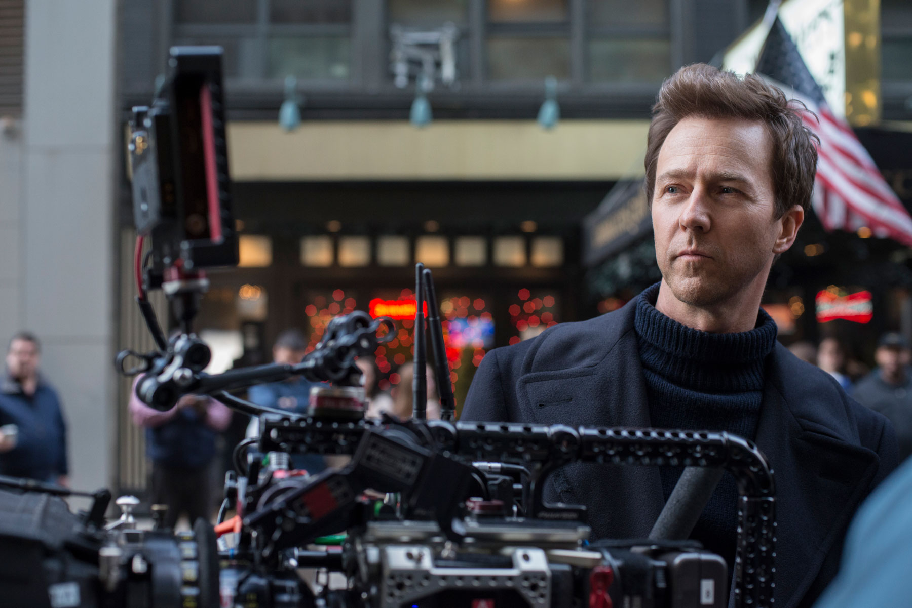 Edward Norton directing Motherless Brooklyn