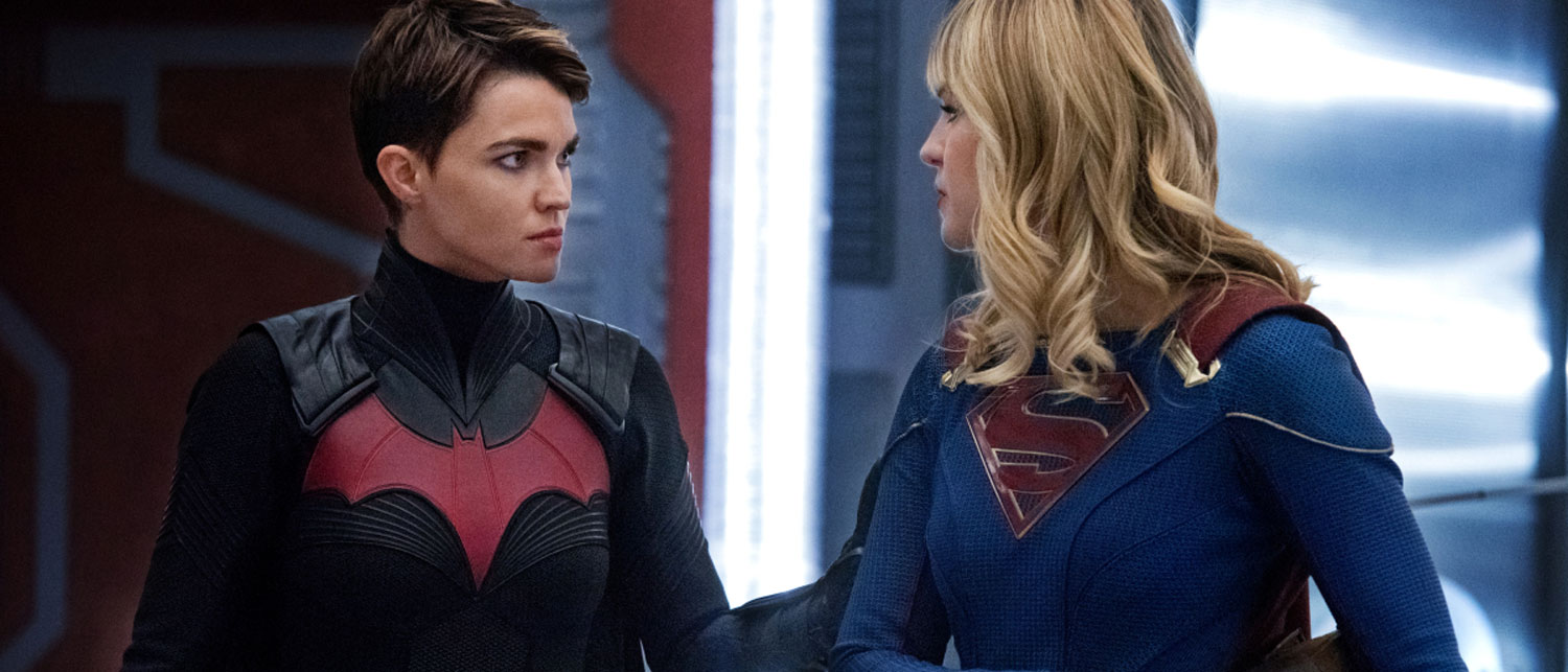 Batwoman and Supergirl in Crisis On Infinite Earths