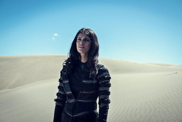 The Witcher Season 1 Yennefer Netflix Mage Desert