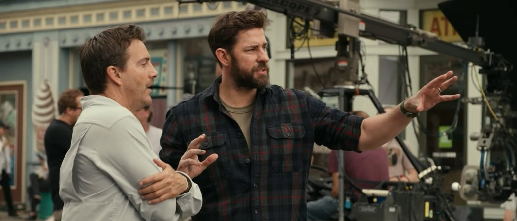 John Krasinski directing A Quiet Place Part 2 Captain america