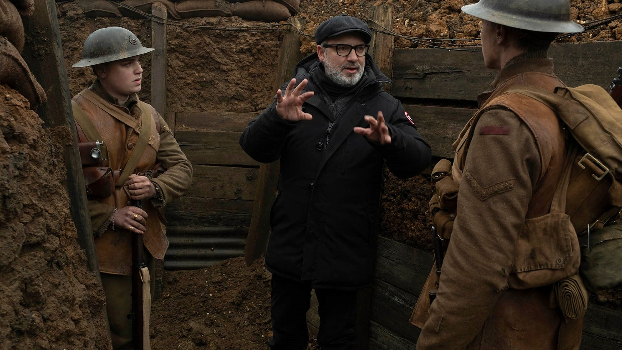 Sam Mendes shooting 1917 Review