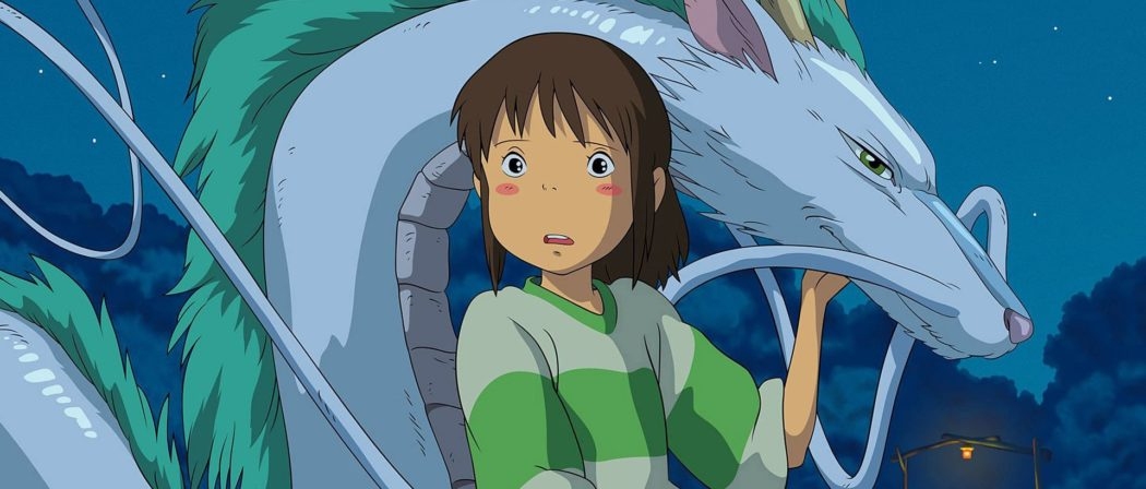 Studio Ghibili Netflix Spirited Away