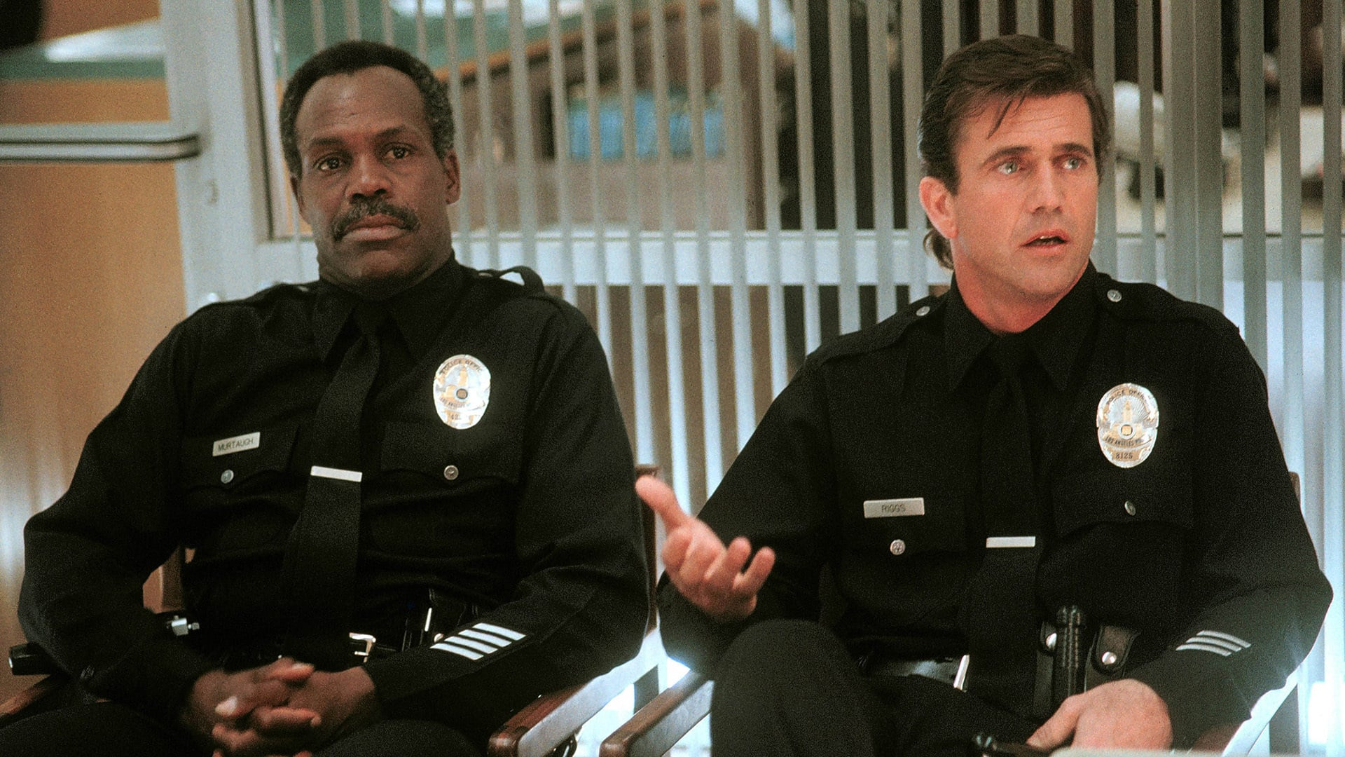 Riggs and Murtaugh in Lethal Weapon 3