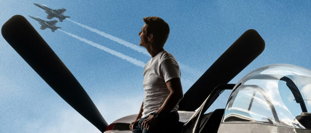 "Tom Cruise back as Captain Pete ""Maverick"" Mitchell in Top Gun: Maverick"