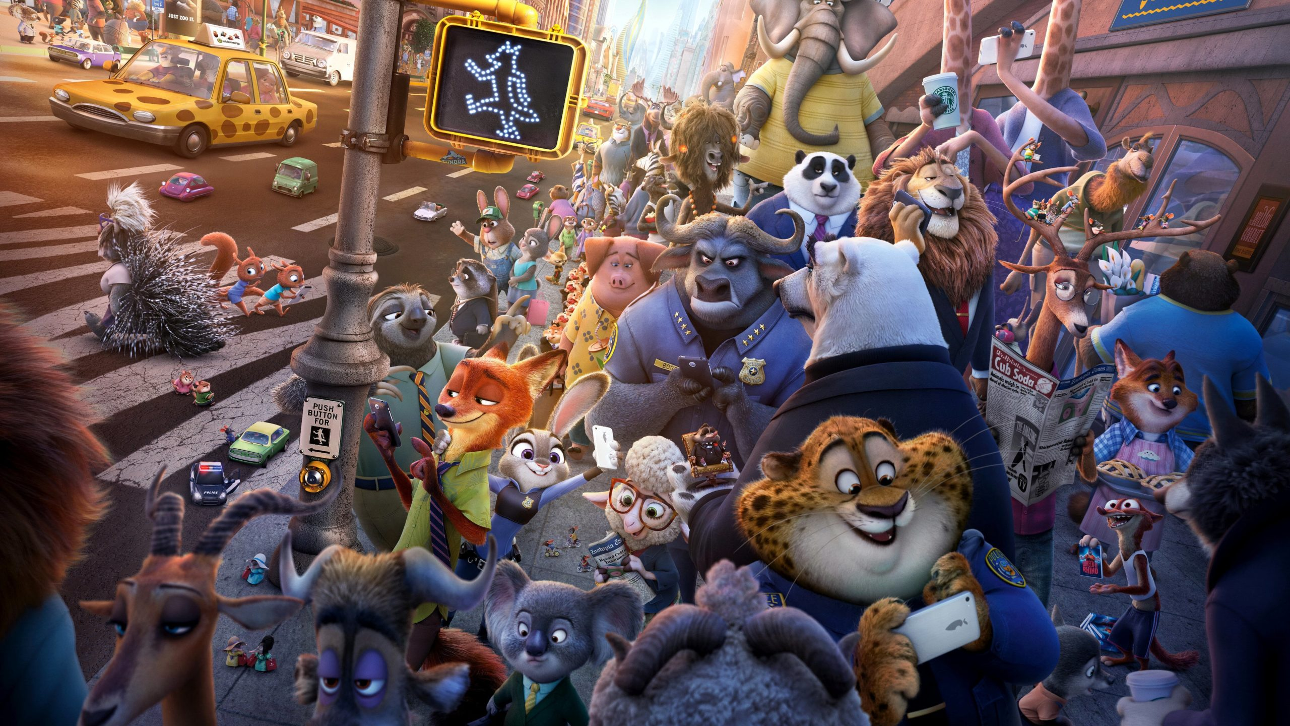 Disney movie franchise Zootopia was a brilliant Disney animated movie