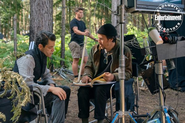 Rami Malek on No Time To Die's set images
