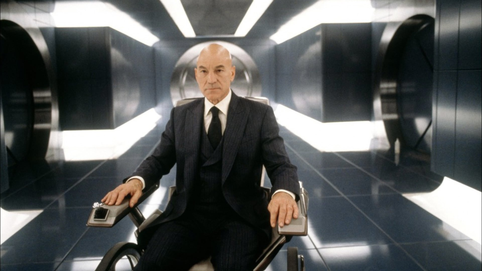 Patrick Stewart Charles Xavier X Men Marvel Disney movie franchise