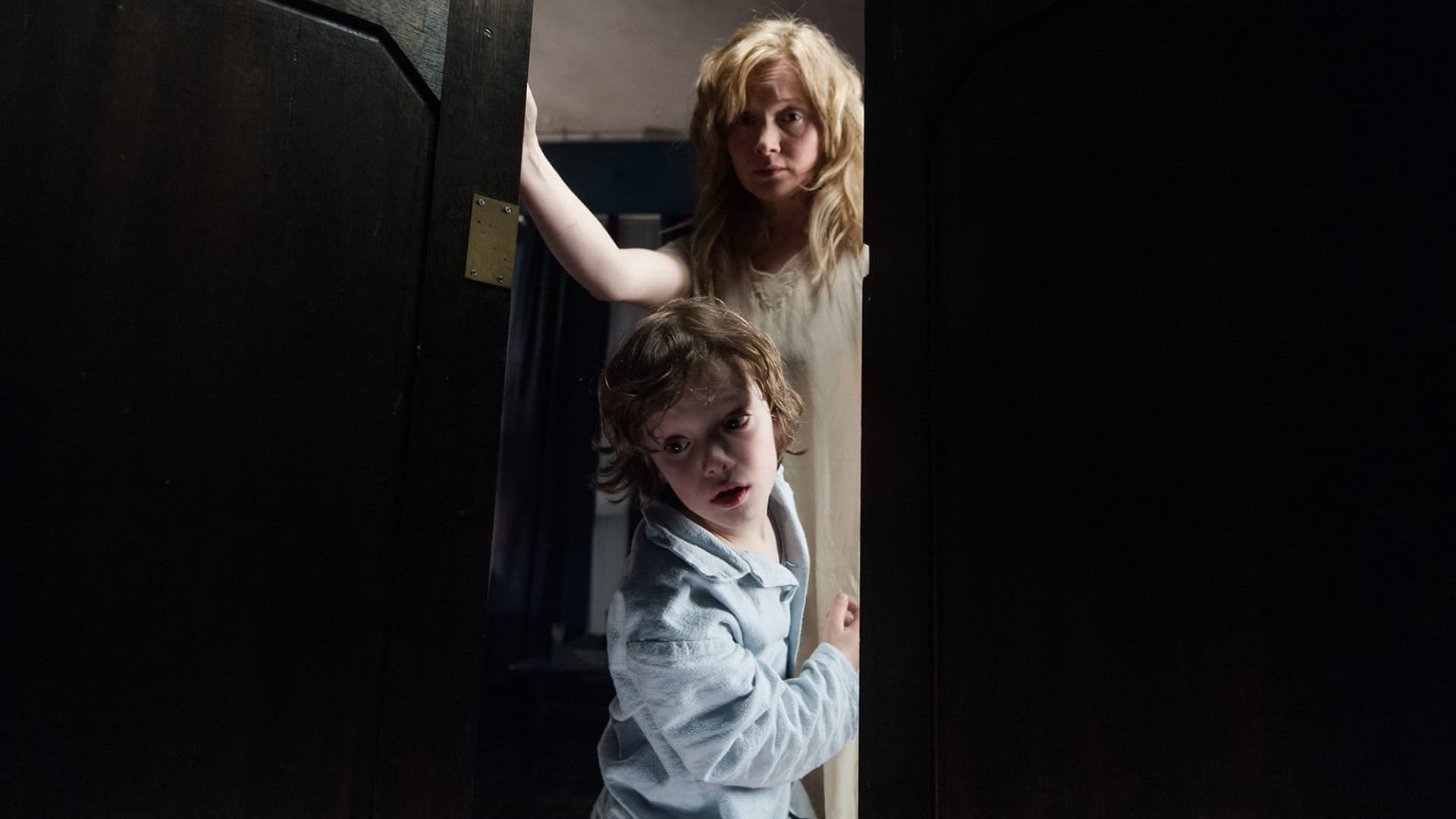 Noah Wiseman is super creepy as Samuel in The Babadook