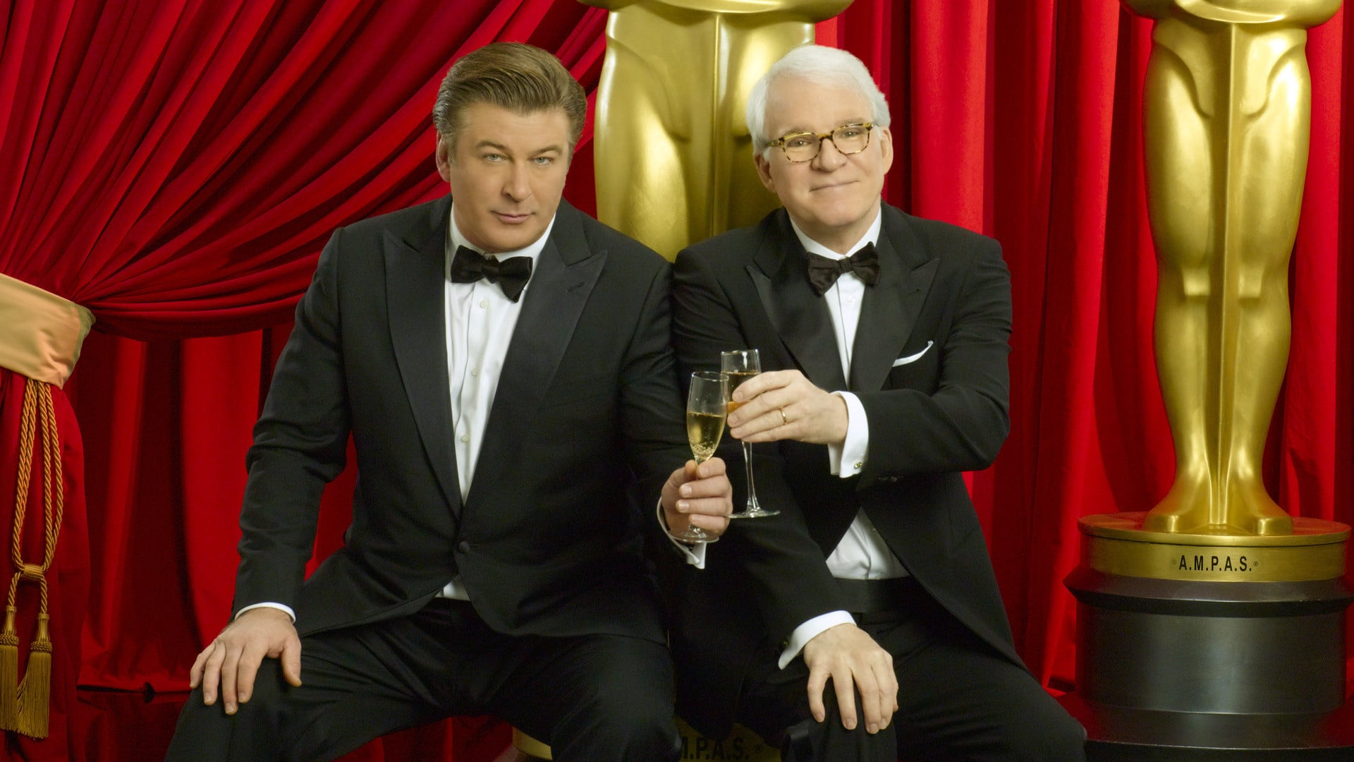 Alec Baldwin and Steve Martin presented the Oscars in 2010