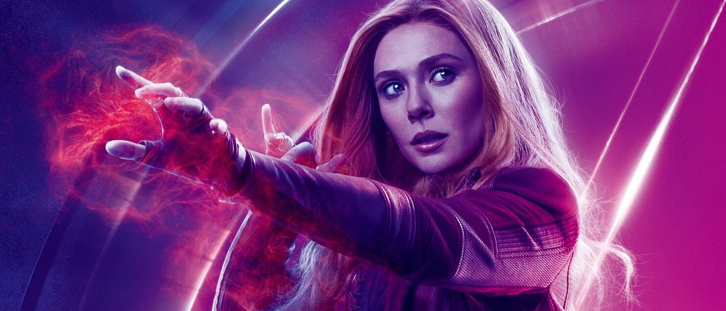 Elizabeth Olsen will be playing Scarlet Witch in WandaVisio