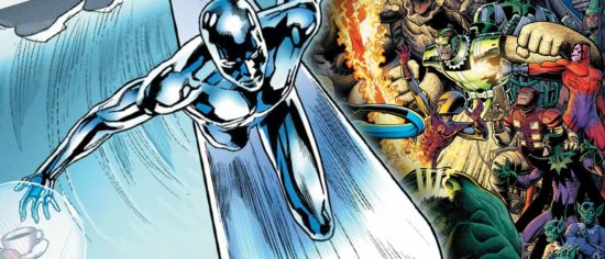 A Silver Surfer Movies Is Reportedly In The Works And One Of The Avengers Might Make A Cameo
