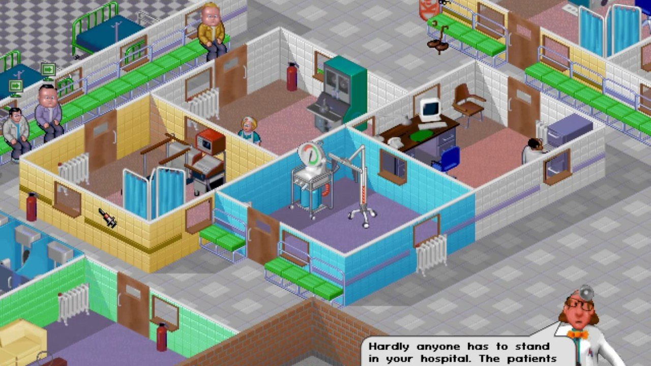 Theme Hospital is a great classic PC game to check out