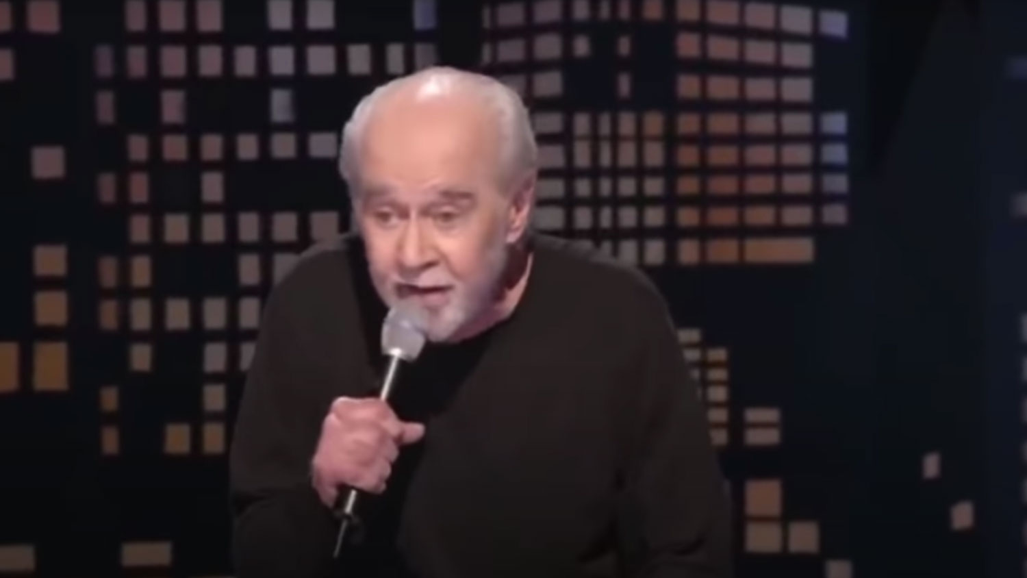 George Carlin has the best line in Out Of Shadows