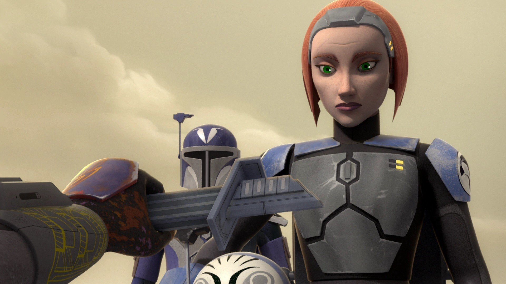 Bo-Katan in Star Wars: Rebels