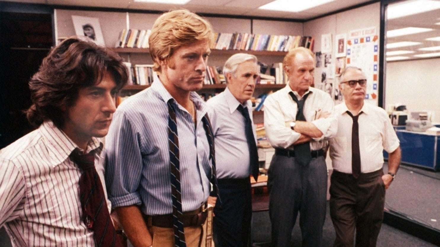 All The President's Men is a classic