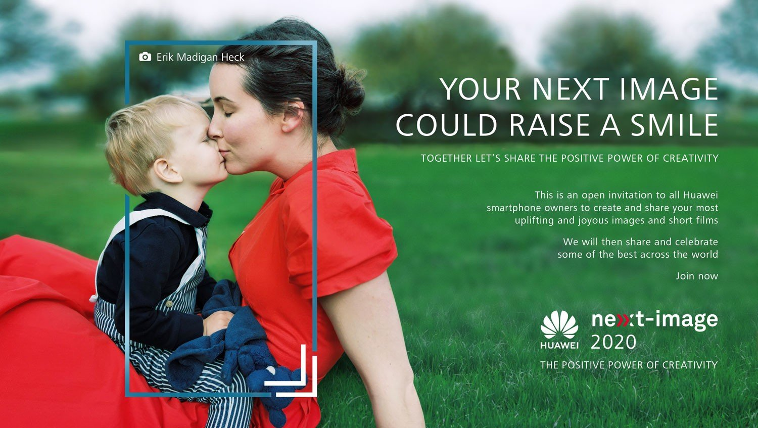 Huawei has announced the NEXT-IMAGE 2020 competition