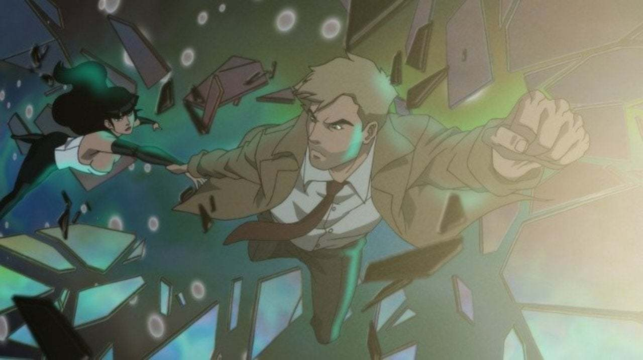 Constantine in Justice League: Apokolips War - Credit: Warner Bros.