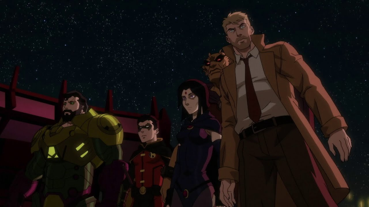 Constantine in Justice League Dark: Apokolips War - Credit: Warner Bros.