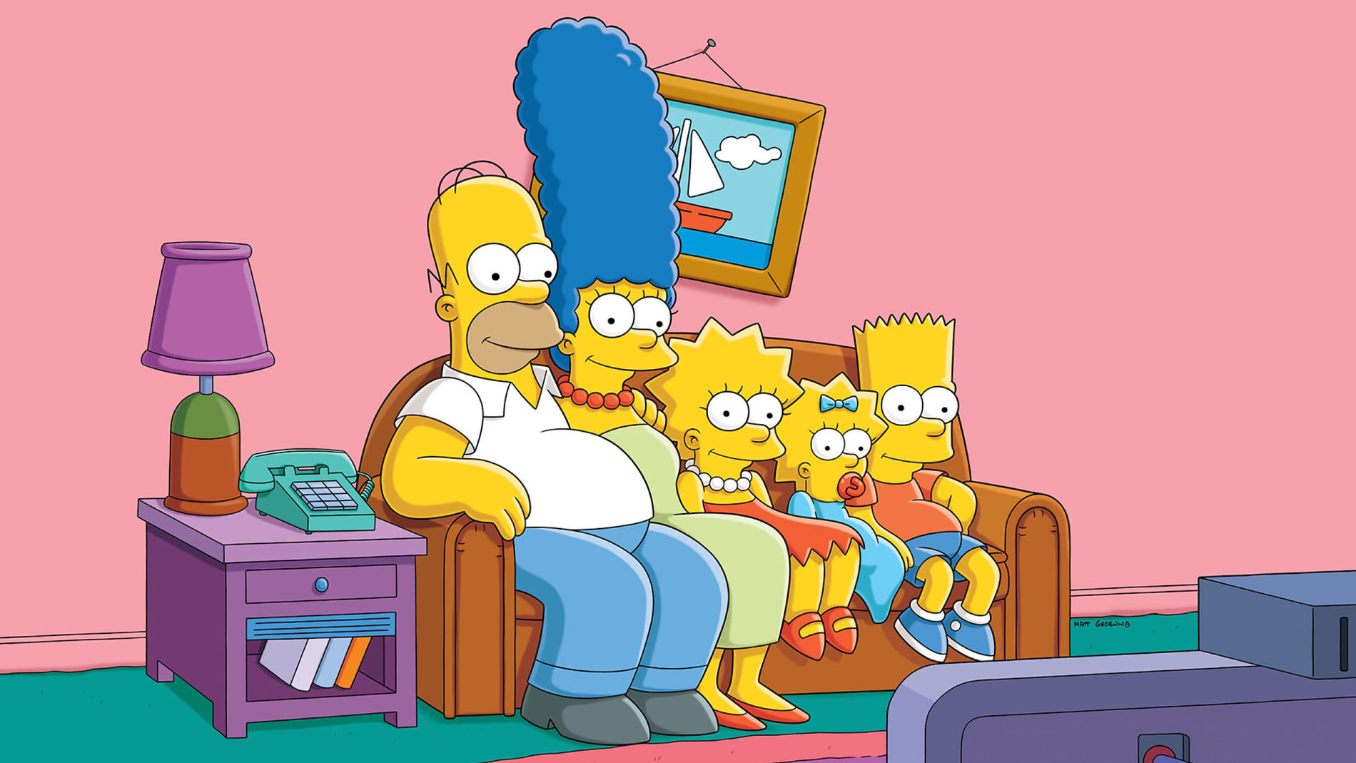 The-Simpsons-Disney-Plus-Matt-Greoning