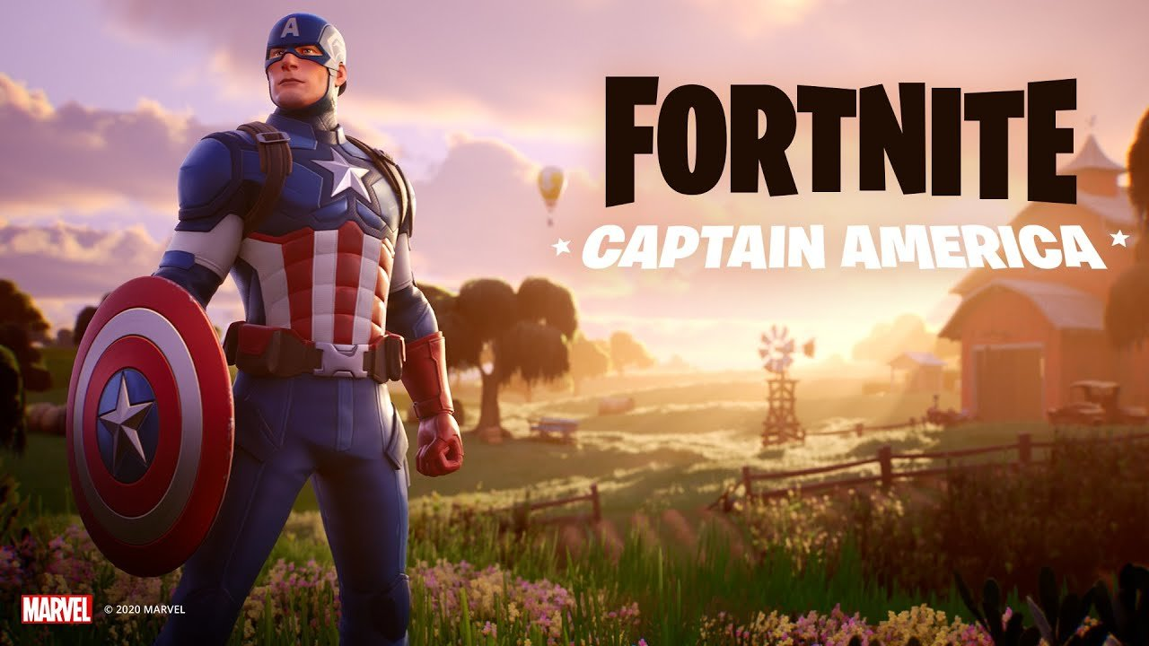 Captain America has come to Fortnite