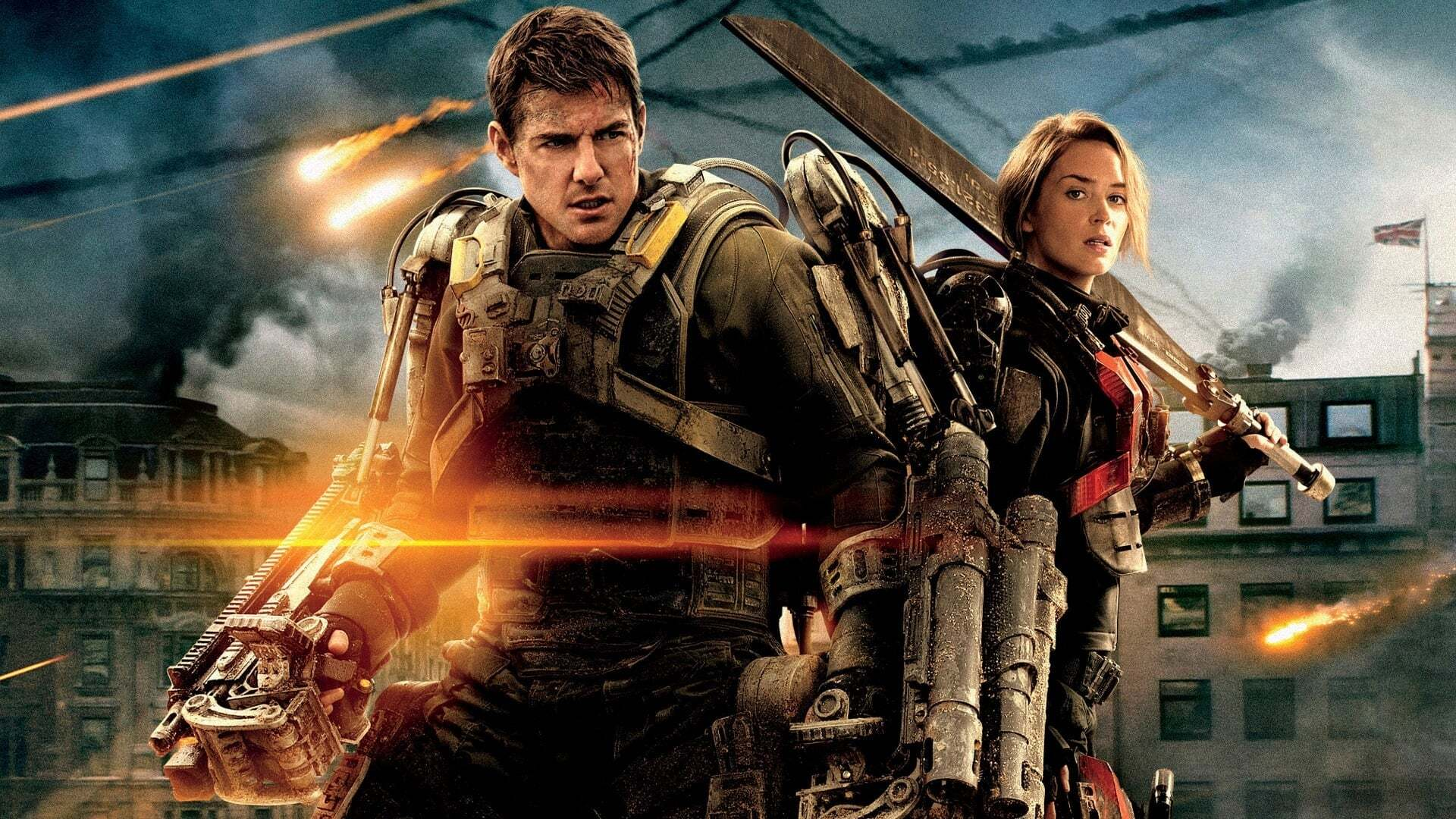 Edge of Tomorrow Tom Cruise Time Travel