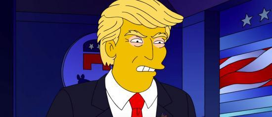 Fans Hopeful That The Simpsons Predicted Donald Trump's Death After COVID-19 Positive Test