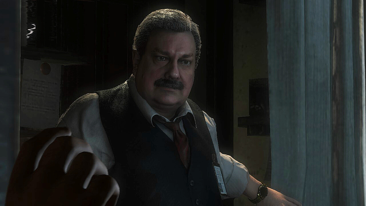 Chief Irons Resident Evil Reboot