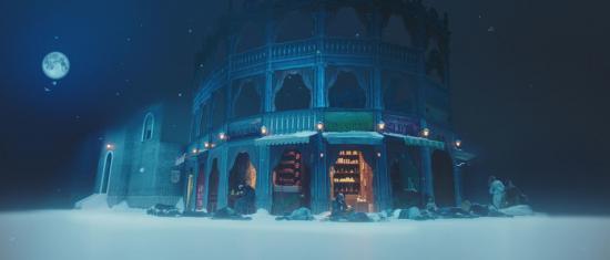 Behind The Scenes Of A Christmas Carol Starring Carey Mulligan, Andy Serkis And Daniel Kaluuya