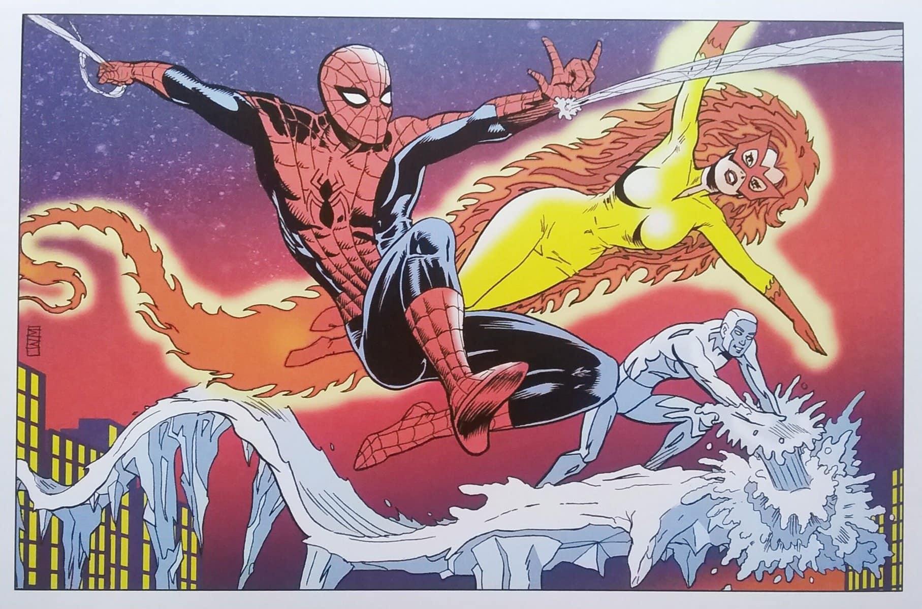 Spider Man Firestar MCU