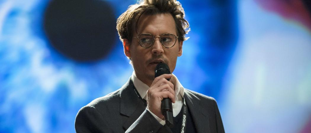 Johnny Depp films The Sun Libel Case