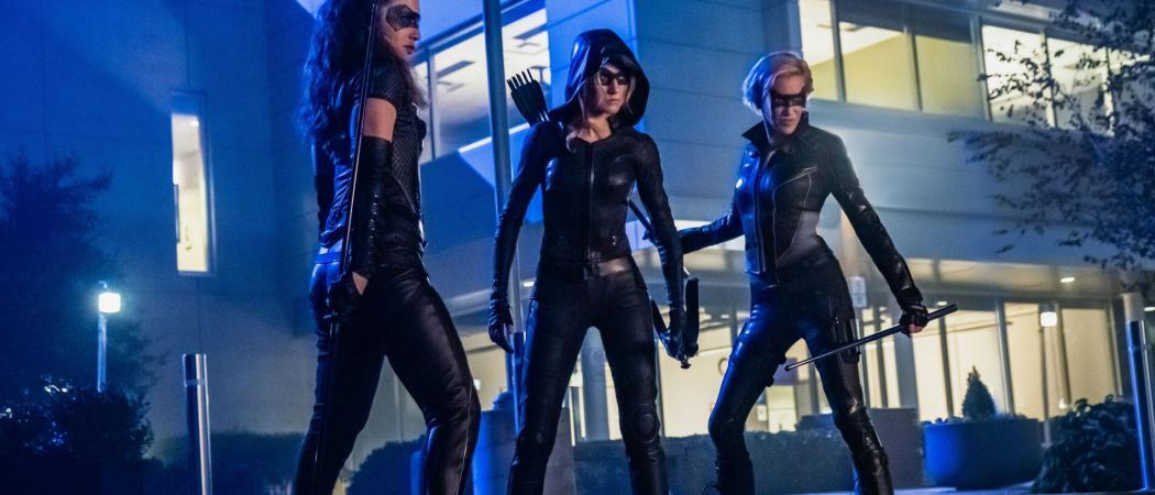 Green-Arrow-And-The-Canaries-Season-1-The-CW-Cancelled