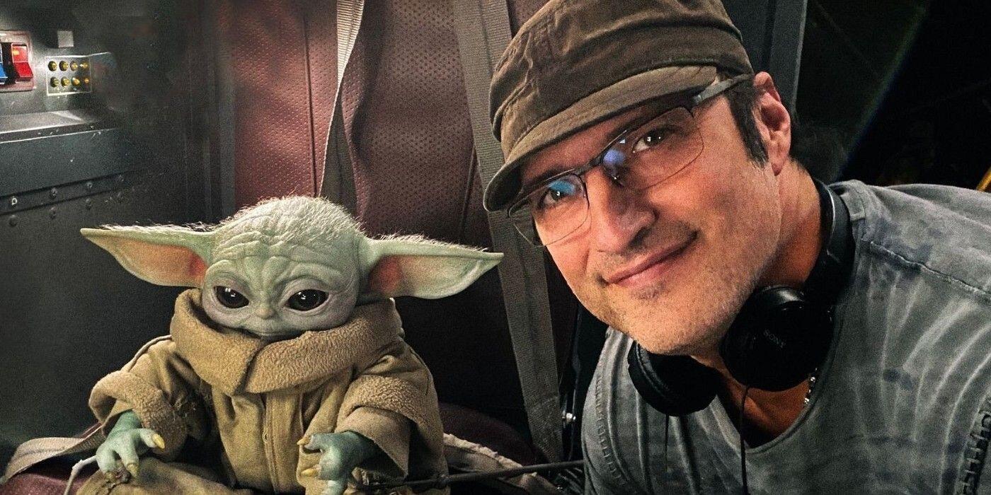 Robert Rodriguez Baby Yoda Grogu The Mandalorian